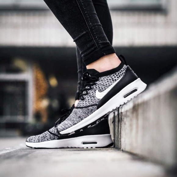 06ae8a94243f0 NIKE AIR MAX THEA ULTRA FLYKNIT OREO shoes women 5